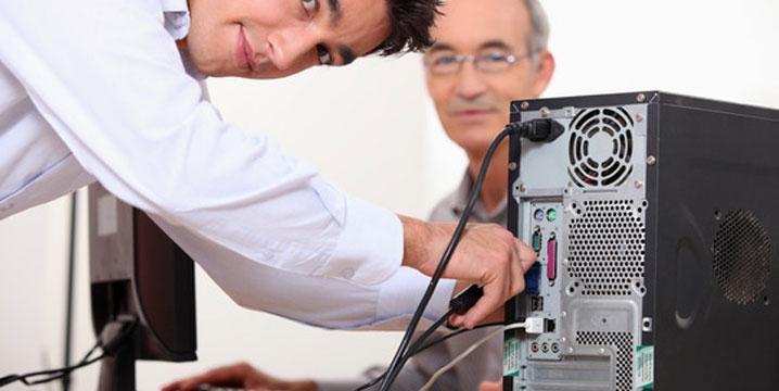 טכנאי מחשבים עד הבית